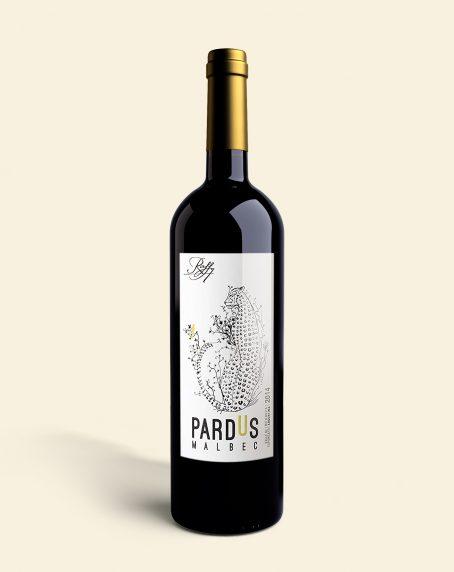 Vino Pardus Malbec de la bodega Raffy